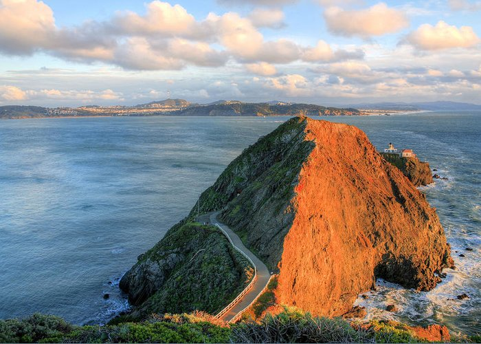 Bonita Point Greeting Card featuring the photograph Gibraltar by JC Findley