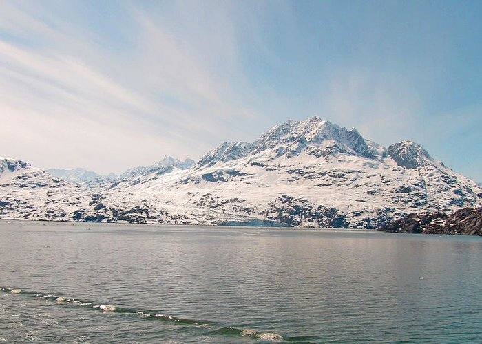 Alaska Greeting Card featuring the photograph Glacial Sky by Larry Marano