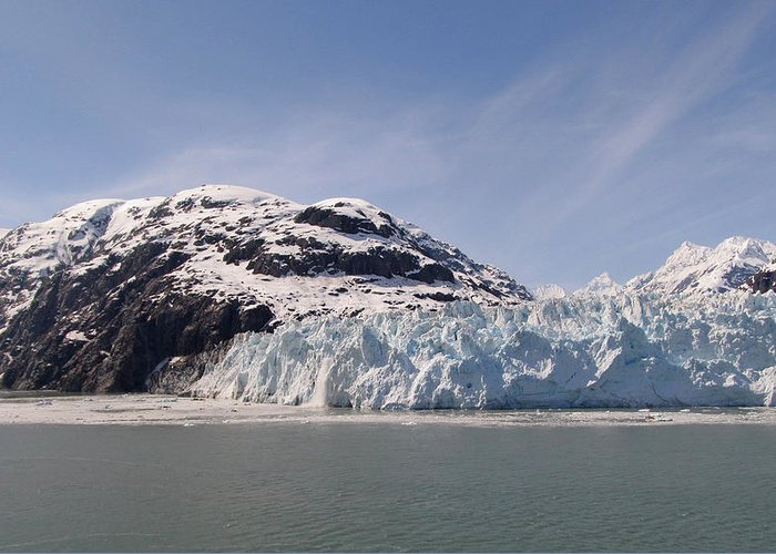 Alaska Greeting Card featuring the photograph Glacier Bay 1 by Larry Marano