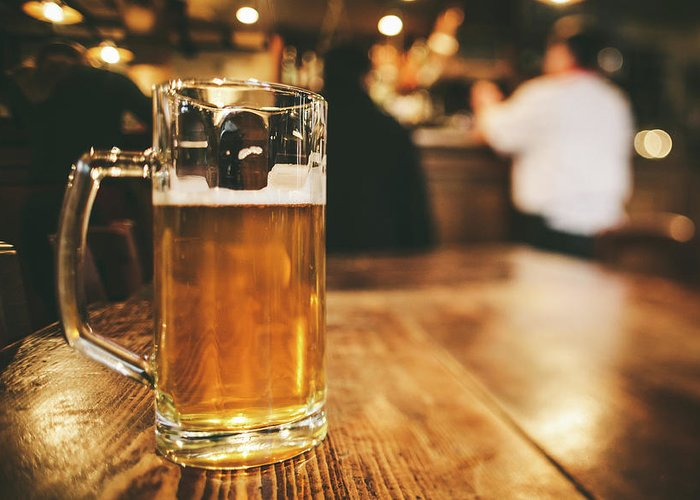 Alcohol Greeting Card featuring the photograph Glass Of Bier, Brewery In Germany by Moreiso
