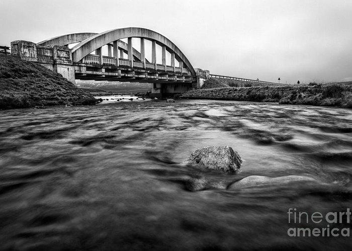 Beautiful Scotland Greeting Card featuring the photograph Glen Coe Bridge by John Farnan