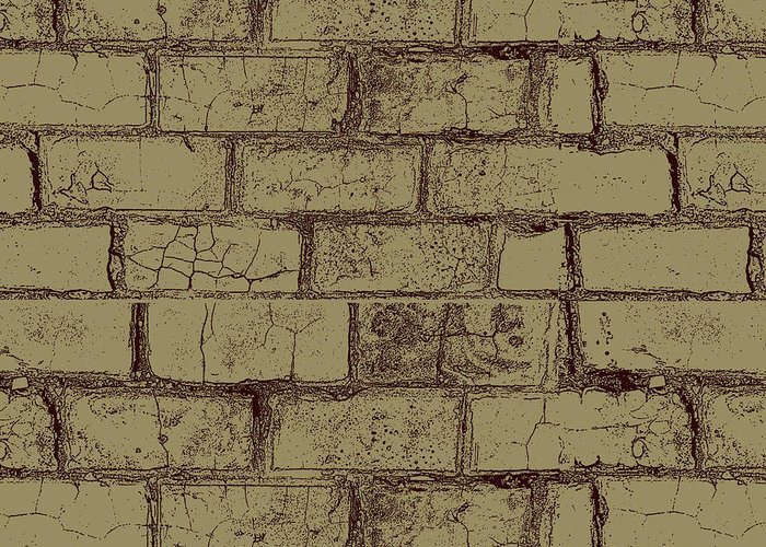 Bricks Greeting Card featuring the photograph Gold Bricks by P S