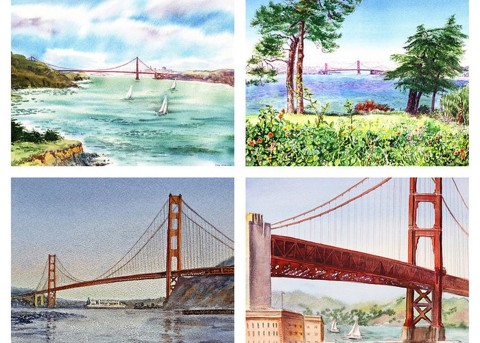 Bay Area Flowers Greeting Cards