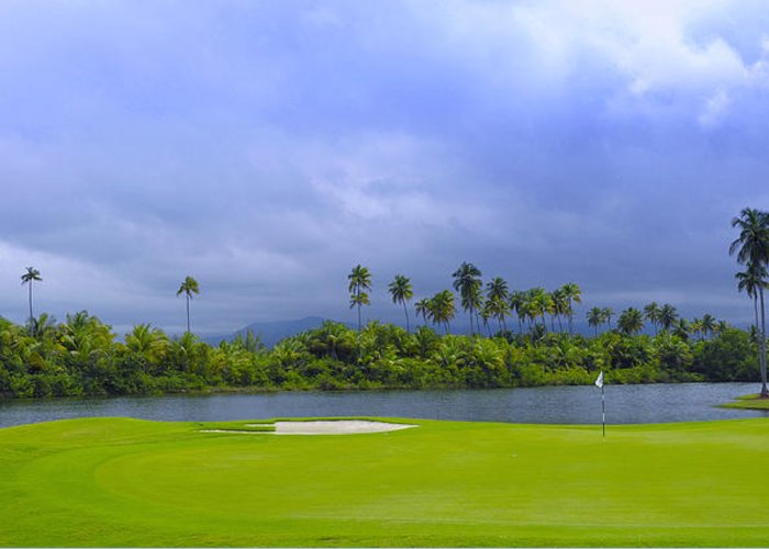 Puerto Rico Golf Greeting Cards