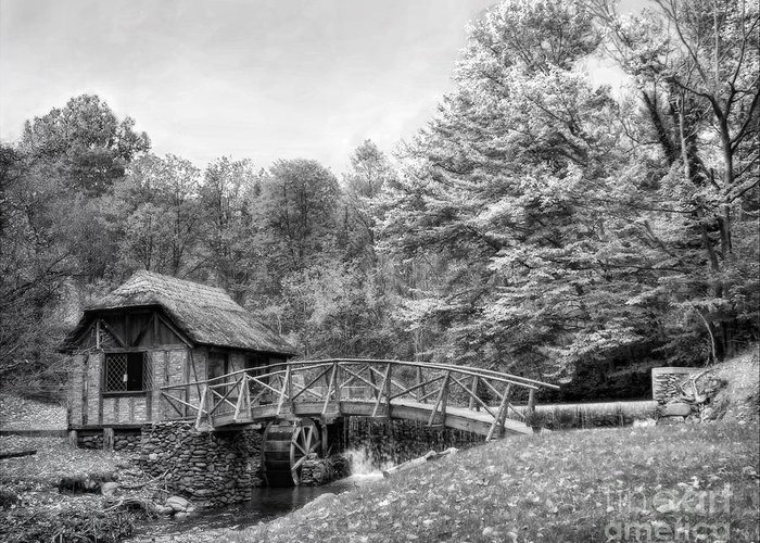 Ir Greeting Card featuring the photograph Gomez Mill by Claudia Kuhn