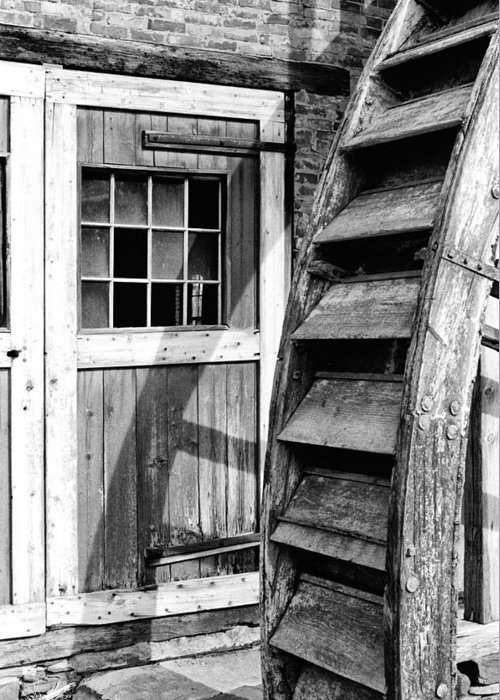 Mill Greeting Card featuring the photograph Abandoned But Proud #2 by Robert Sroka