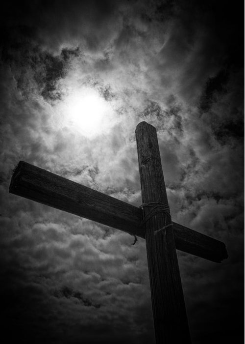 Good Friday Greeting Card featuring the photograph Good Friday by Caitlyn Grasso