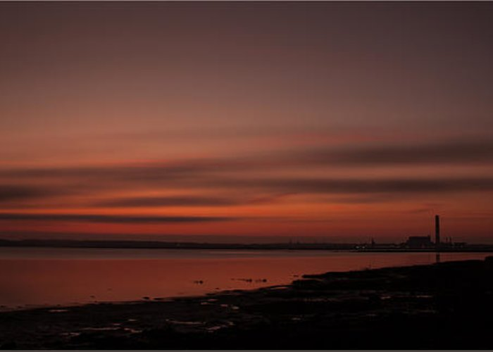 Sunset Greeting Card featuring the photograph Good Night by Nigel Jones