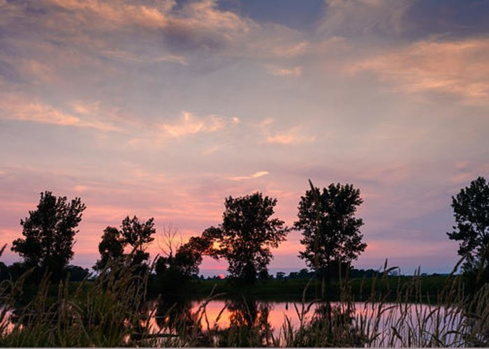 Prairie Sunset Greeting Cards