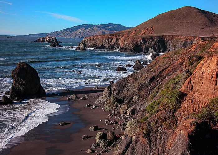 Gorgeous Greeting Card featuring the photograph Gorgeous Sonoma Coast by Garry Gay