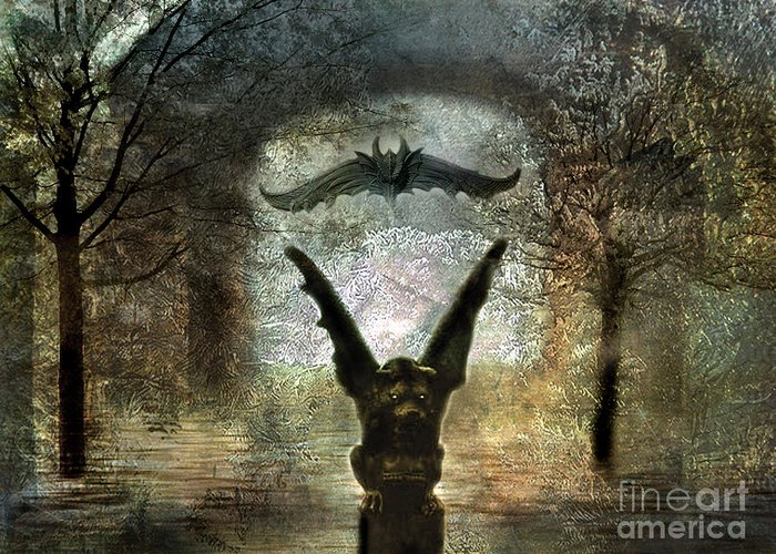 Fantasy Surreal Fine Art By Kathy Fornal Greeting Cards