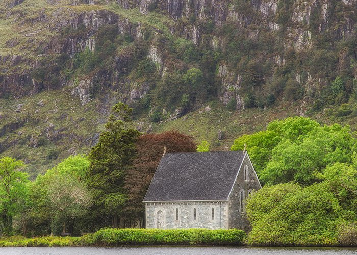 Gougane Barra Greeting Card featuring the photograph Gougane Barra by Phillip Cullinane