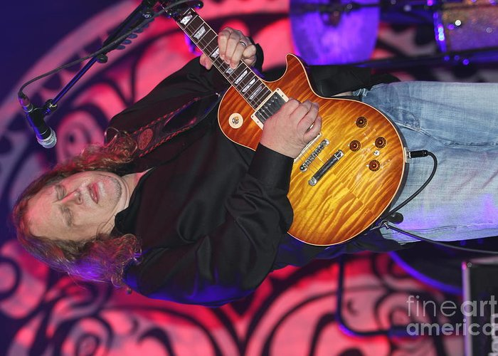 Warren Haynes Greeting Card featuring the photograph Gov't Mule by Concert Photos