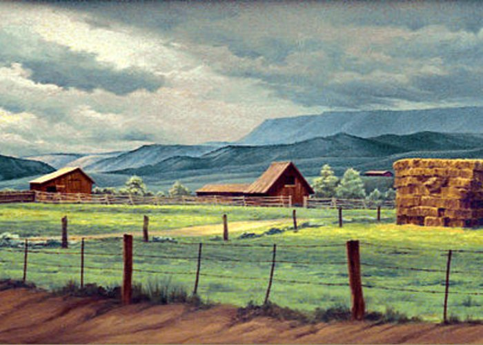 Horse Ranch Greeting Cards