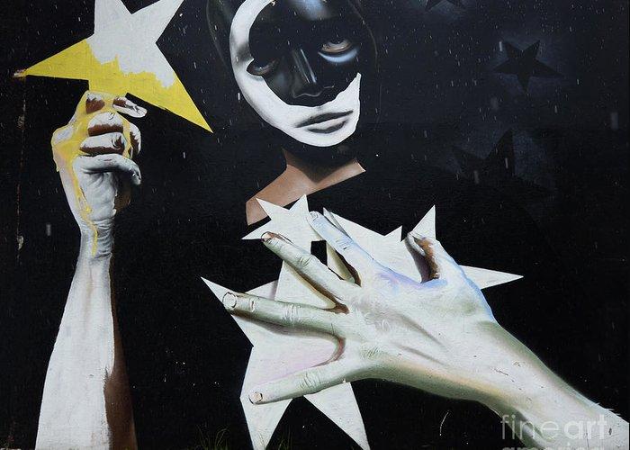Graffiti Greeting Card featuring the photograph Graffiti Art Curitiba Barazil 13 by Bob Christopher