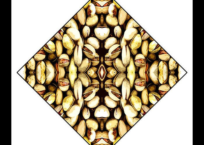 Grains Greeting Card featuring the digital art Grains by Roberto Alamino
