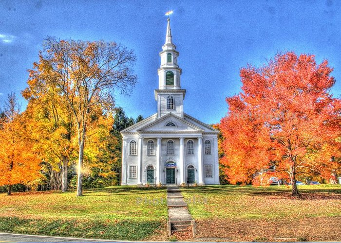 Fall Colors Greeting Card featuring the photograph Granby Ma by Ralph Jasinski