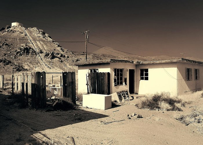 Abandoned Home Greeting Card featuring the photograph Gravity Flow by Dominic Piperata