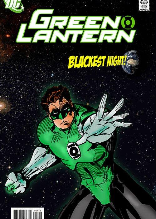 Green Lantern Photographs Greeting Cards