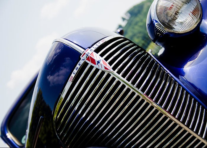 Grille Greeting Card featuring the photograph Grille by Off The Beaten Path Photography - Andrew Alexander