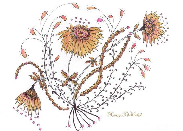 Renewing Drawings Greeting Cards