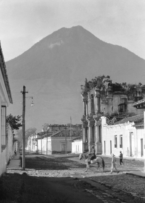 1920 Greeting Card featuring the photograph Guatemala, C1920 by Granger