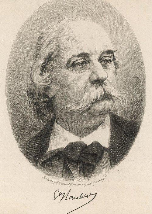 Gustave Flaubert Greeting Cards