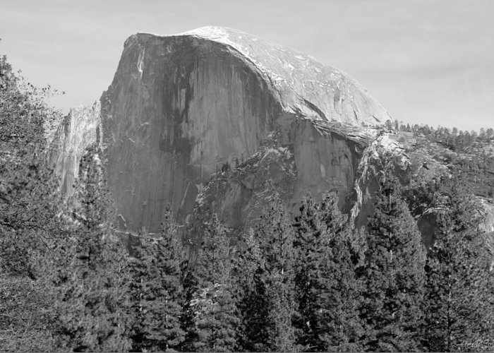 Adventure Greeting Card featuring the photograph Half Dome Yosemite by Heidi Smith