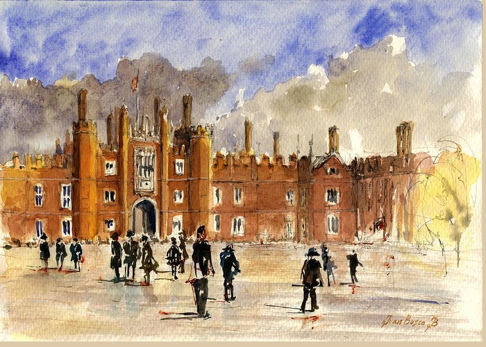 Hampton Court Greeting Cards