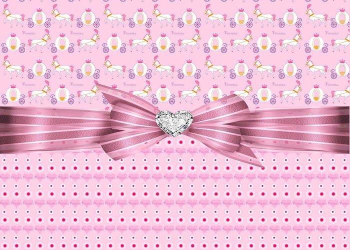 Polka Dots Greeting Card featuring the digital art Happy Celebration by Debra Miller