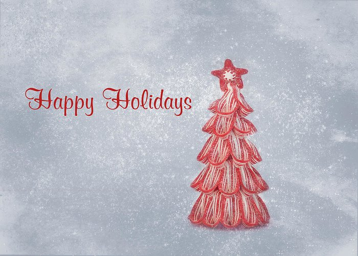 Christmas Card Art Greeting Card featuring the photograph Happy Holidays by Kim Hojnacki