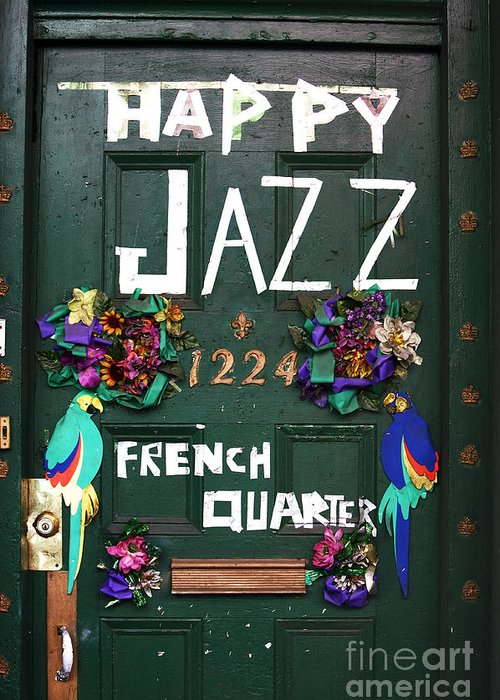 Happy Jazz Greeting Card featuring the photograph Happy Jazz by John Rizzuto