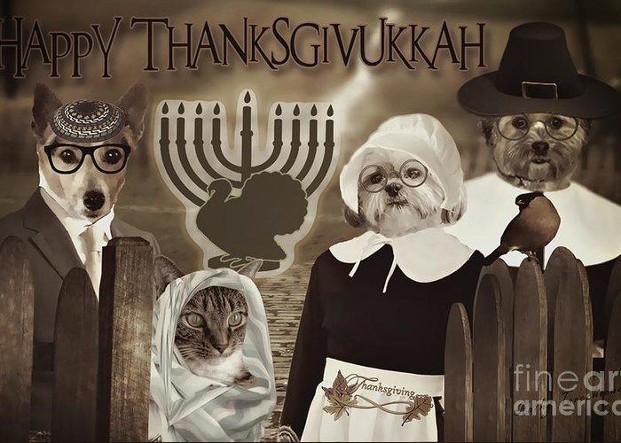 Thanksgivukkah Greeting Cards