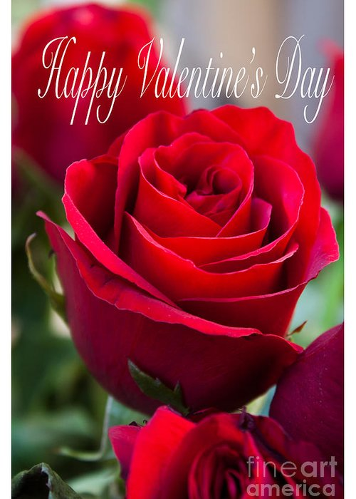 Happy Valentine's Day Greeting Card featuring the photograph Happy Valentine's Day # 9 by Ivete Basso Photography