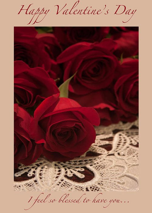 Happy Valentine's Day Greeting Card featuring the photograph Happy Valentine's Day #7 by Ivete Basso Photography