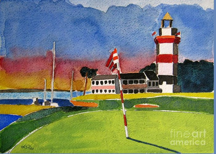 Head Harbour Lighthouse Greeting Cards