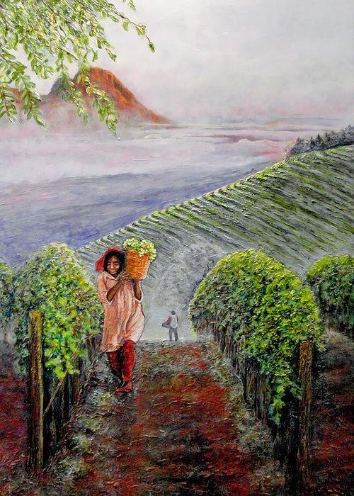 Stellenbosch Paintings Greeting Cards