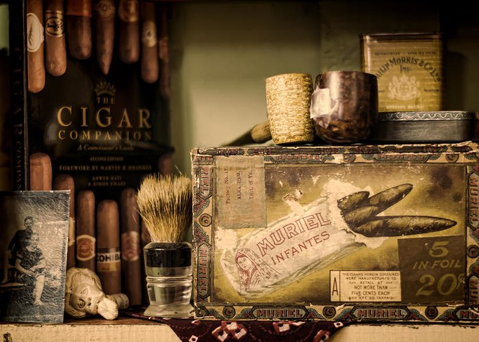Cigar Greeting Card featuring the photograph Have A Cigar by Heather Applegate