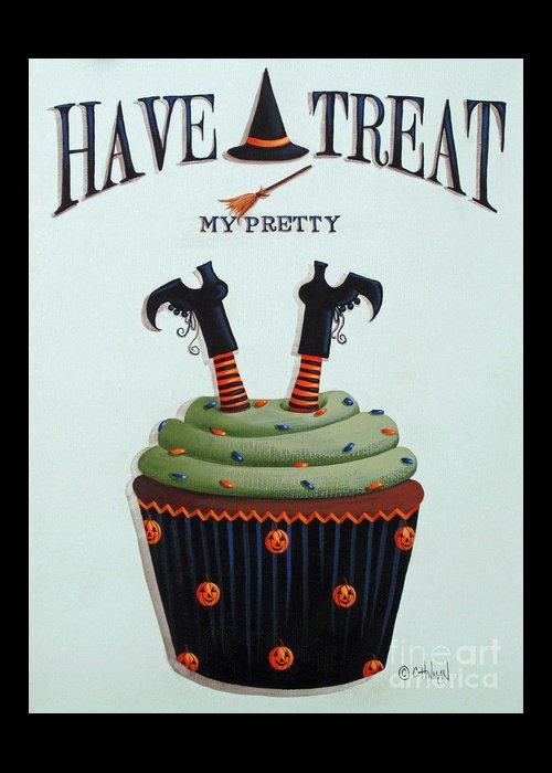 Halloween Folk Art Greeting Cards