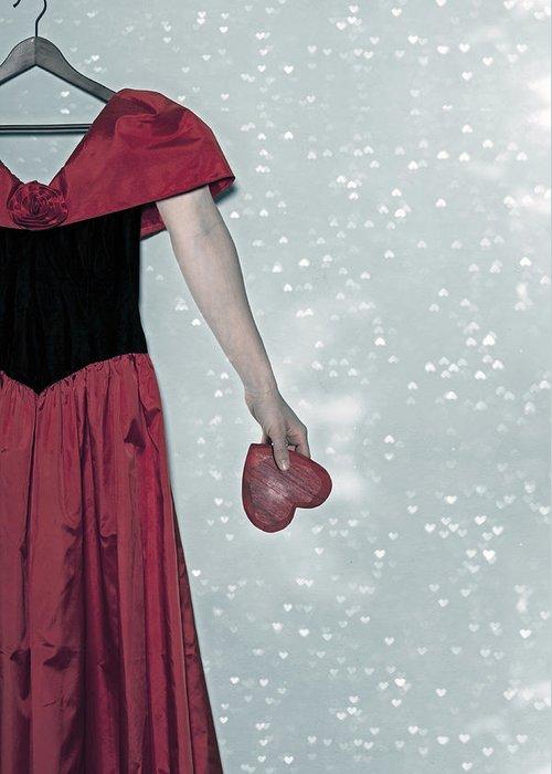 Dress Greeting Card featuring the photograph Headless Love by Joana Kruse