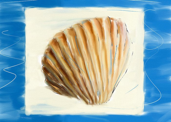 Seashell.seashells Greeting Card featuring the digital art Heart Of The Sea by Lourry Legarde