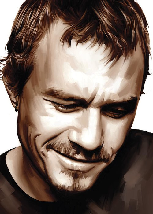 Heath Ledger Greeting Cards