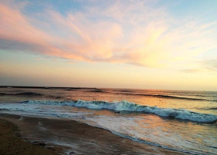 Ocean Greeting Card featuring the photograph Heaven On Earth by Ange Sylvestri