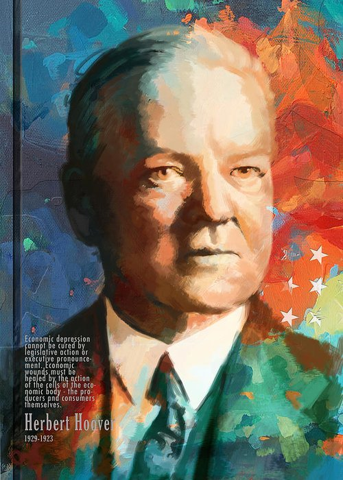 Herbert Hoover Greeting Cards