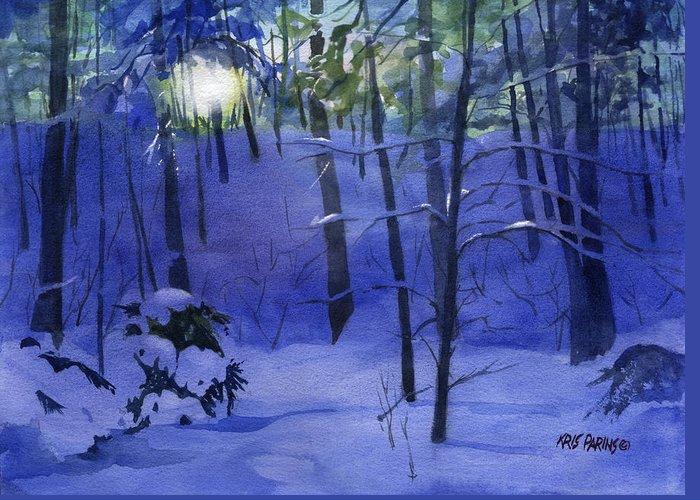 Snowbound Greeting Cards