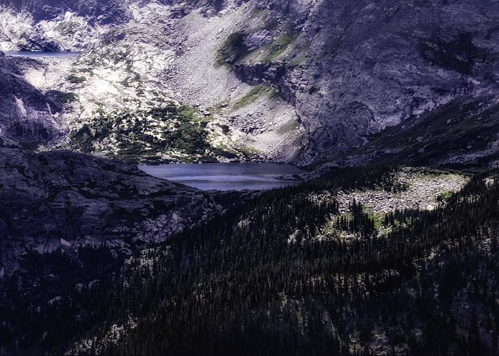 Colorado Greeting Card featuring the photograph Hidden Lakes by Rob Weisenbaugh