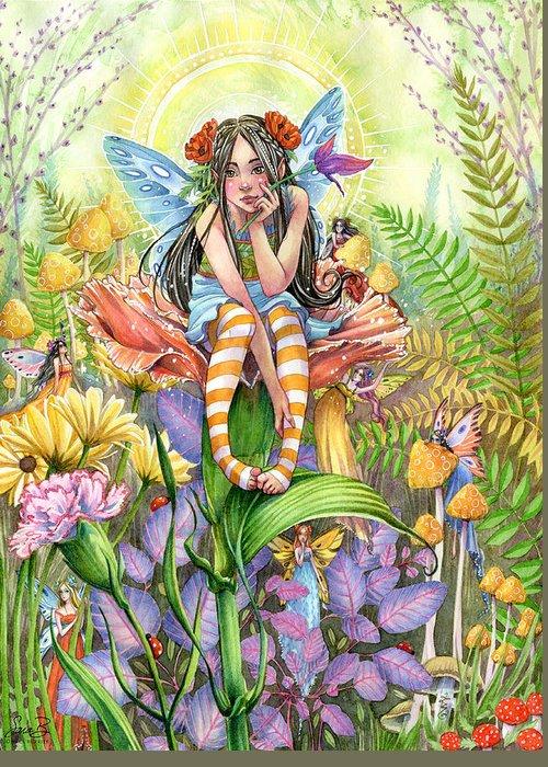 Enchanting Wall Art Greeting Cards