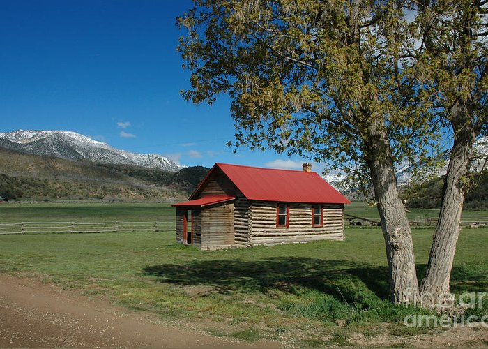 Colorado Greeting Card featuring the photograph High Lonesome Ranch by Jerry McElroy
