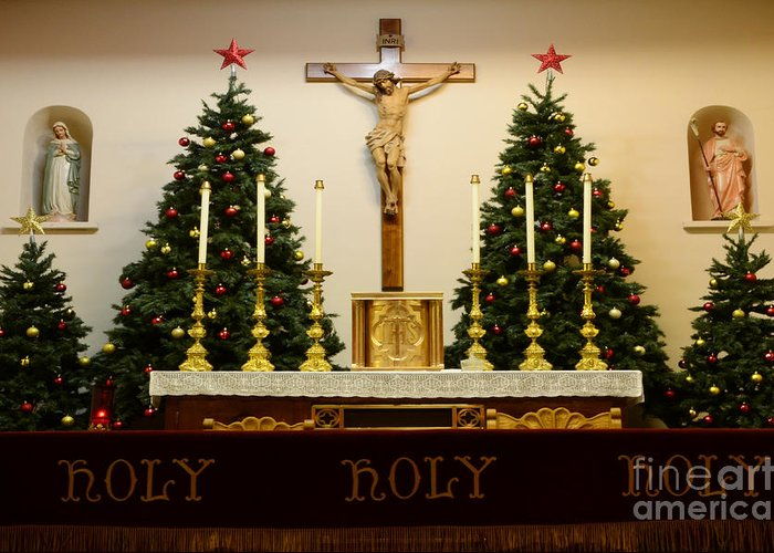 Church Greeting Card featuring the photograph Holy Holy Holy by Bob Christopher
