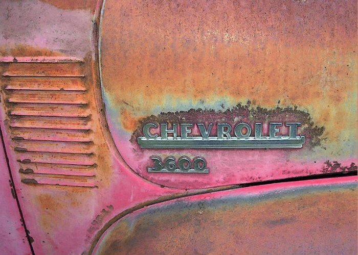 Chevrolet Greeting Card featuring the photograph Homestead Chev by Jerry McElroy